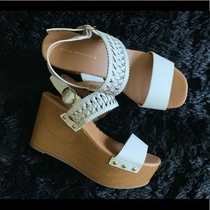 Tommy Hilfiger wedge shoes